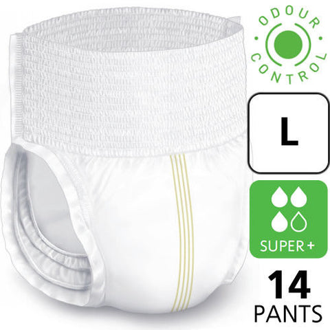 Lille Healthcare Pull Up Incontinence SupremPants SIZE LARGE (14 pads)