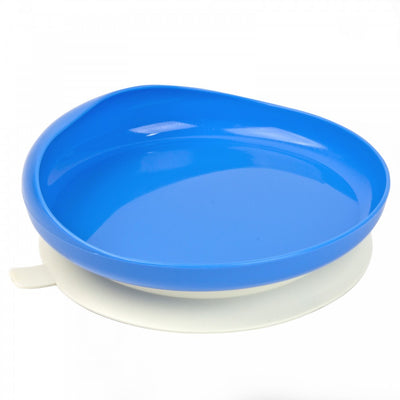 the image shows the scooper plate in blue