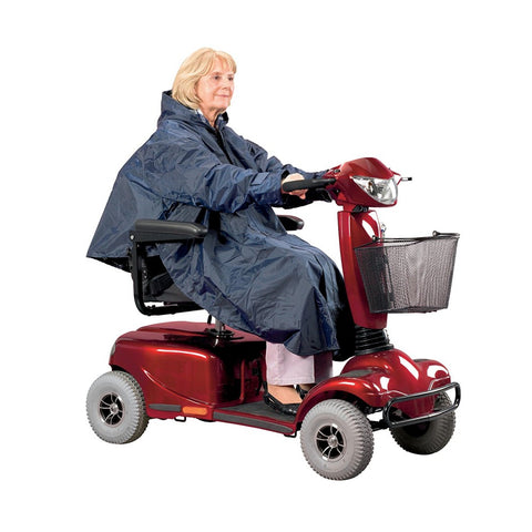 Scooter-Clothing-Poncho-Lined Blue