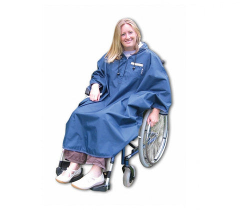Sheerlines-Coniston-Wheelchair-Cape Blue