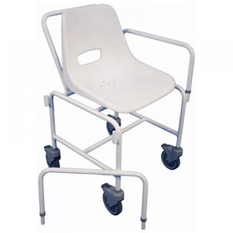 Shower-chair-with-detachable-arms White