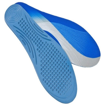 Sorbothane-Medical-Blue-Insoles Size 10-11