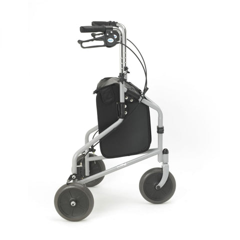 Days Steel Tri Wheel Walker - Silver Grey