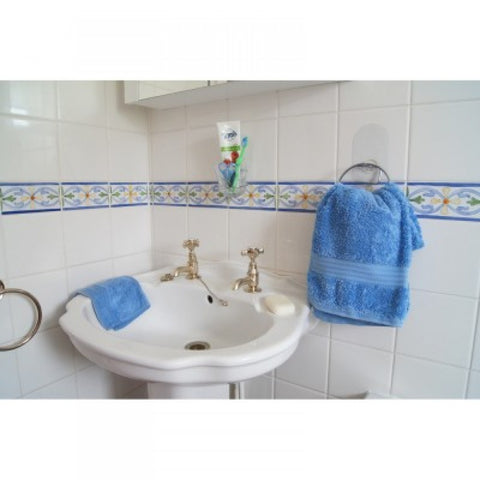 Stick-'n'-Stay-Instant-Fix-Bathroom-Set Towel Holder