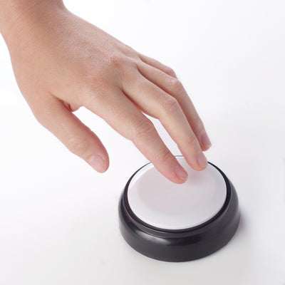 Talking Button Clock For Low Vision