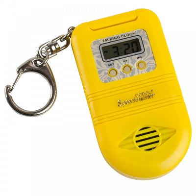 Talking-Keychain-Clock Yellow