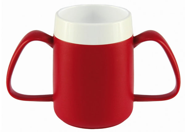 Two-Handled-Thermal-Mug-with-Internal-Cone Yellow