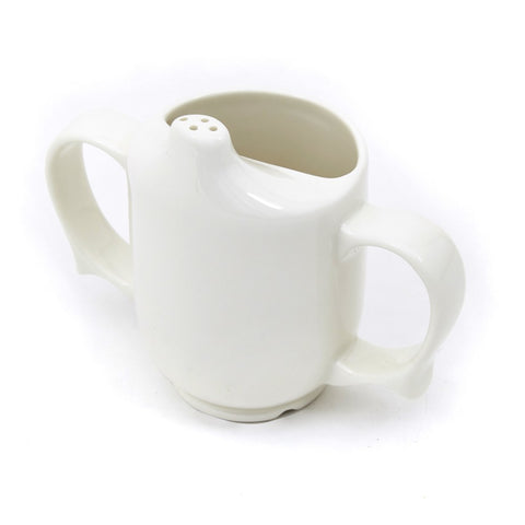 Wade-Dignity-Two-Handled-Feeder-Cup White