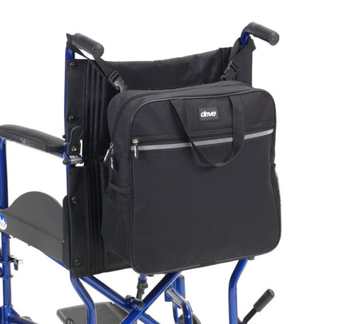 Wheelchair-backpack-shopping-bag Black