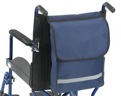 Wheelchair-/-Scooter-/-Powerchair-Seat-Bag Blue