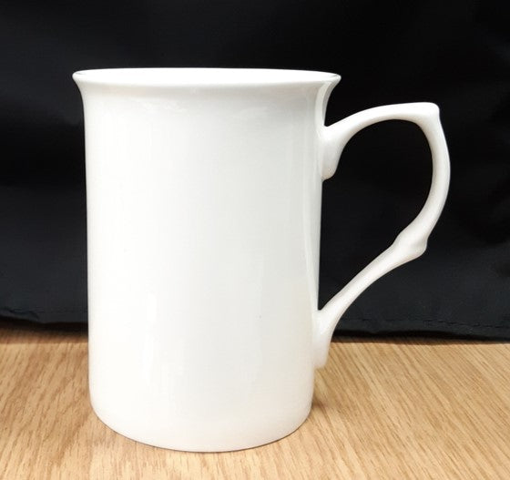 The image shows the Bone China Mug for the Buckingham Caddy