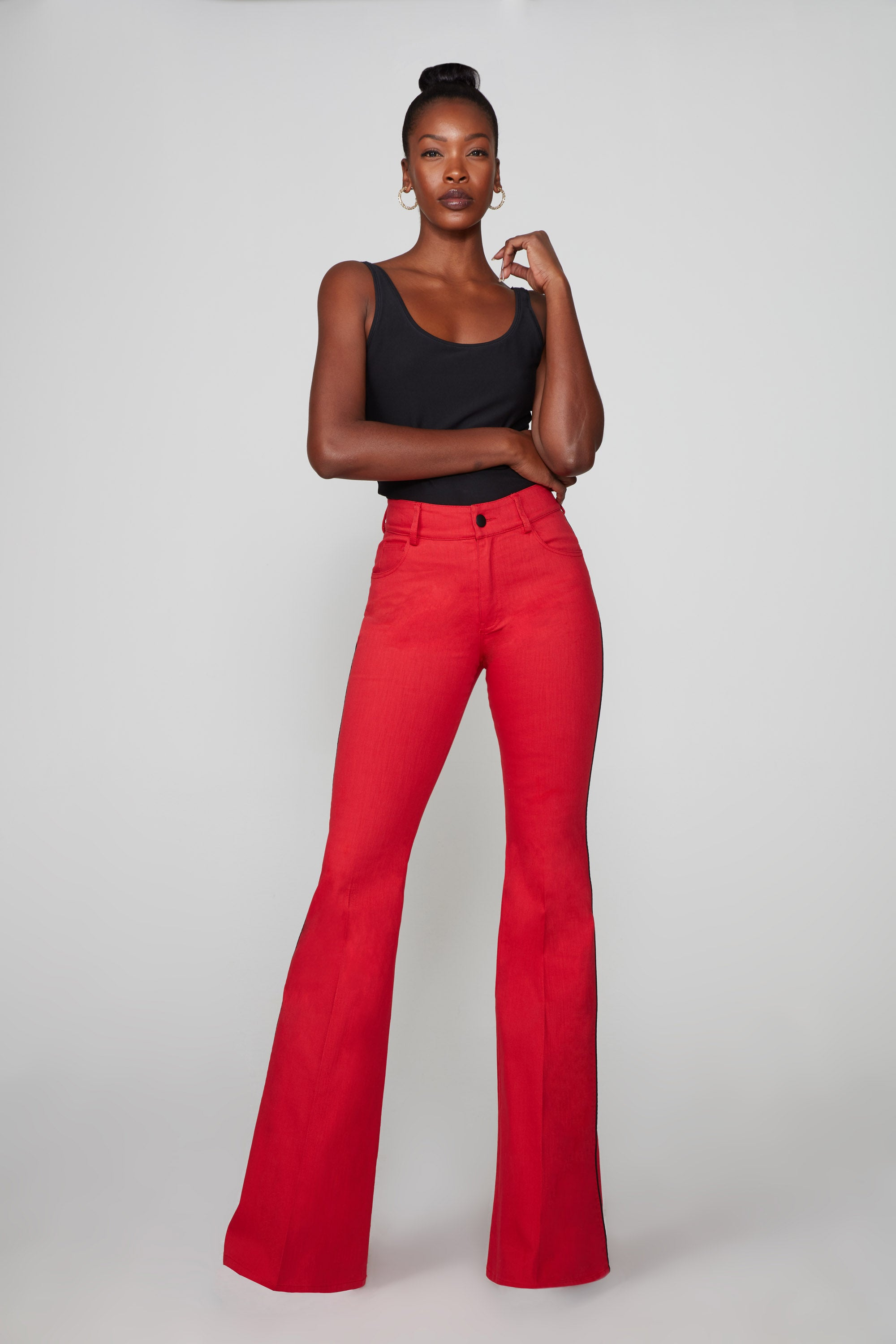Celeta Pant - Chili Pepper: thesixes.com