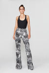 Celeta Pant - Limited Edition Feather Print: thesixes.com