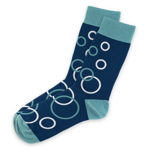 Blue Bubble Socks