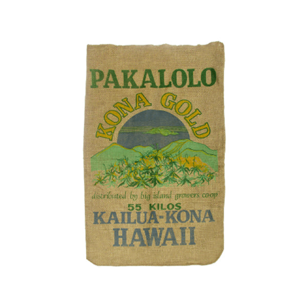 Kona Gold Burlap Coffee Sack