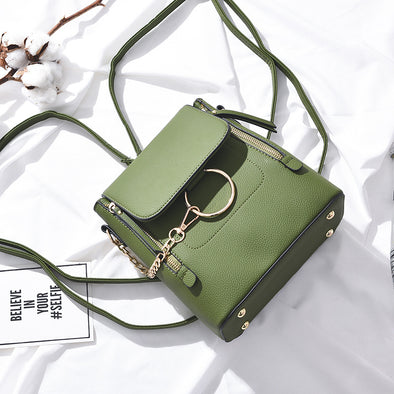 2019 New Fashion PU Leather Women Backapck Mini