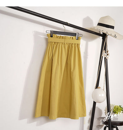Elegant Empire Womens Skirts With Sashes