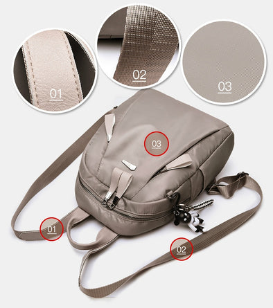Casual Women Backpacks Waterproof