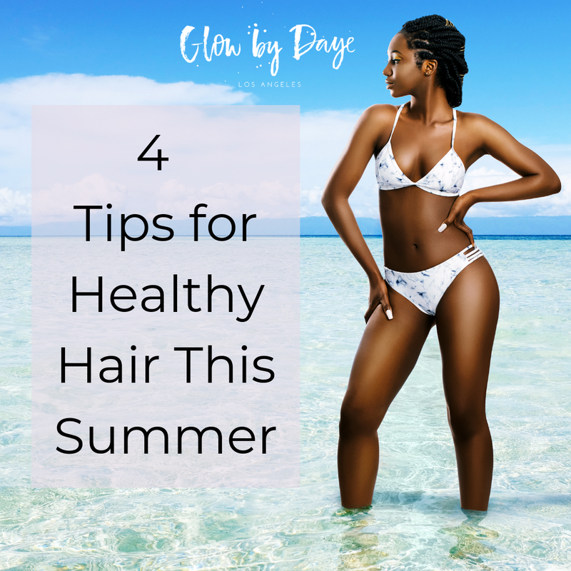 Tips on How to Avoid Dry, Brittle Natural Hair this Summer