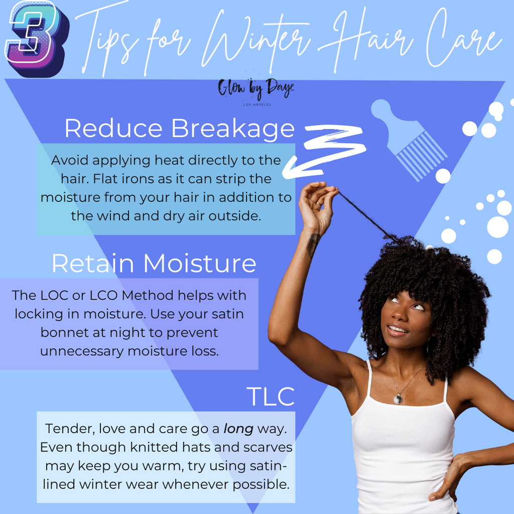 3 Tips to Care for Your Hair During the Winter