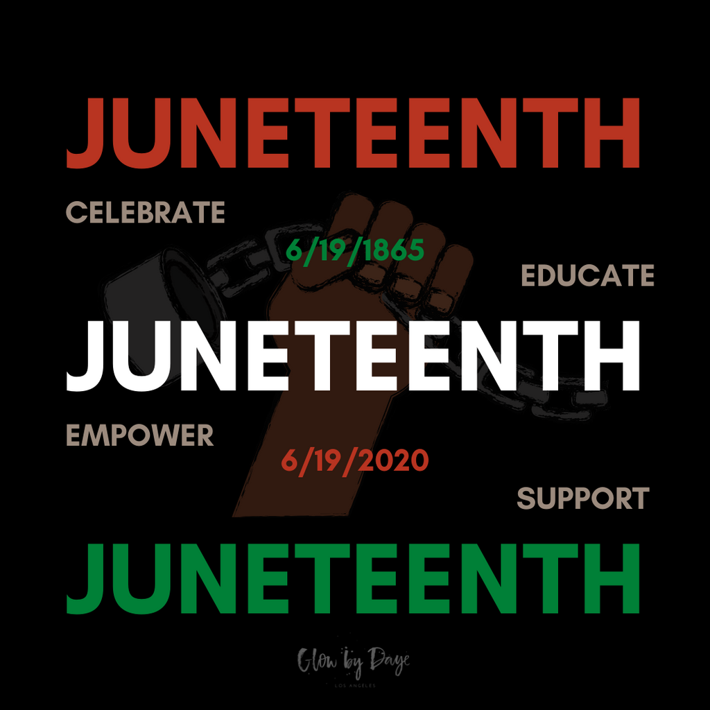 Juneteenth June 19, 1865-June 2020