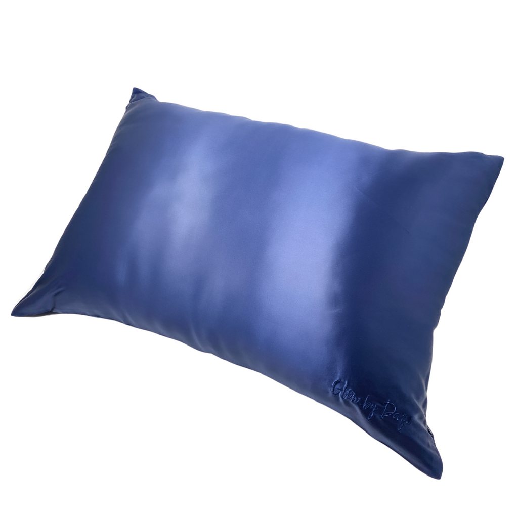 Navy 100% Mulberry Silk DayeDream™️ Pillowcase (Standard/Queen)