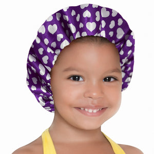 Kids PUrple Bonnet