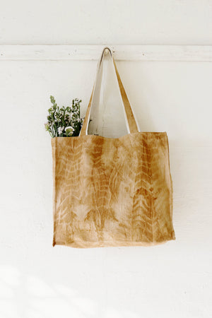 Cutch Shibori Large Tote Bag