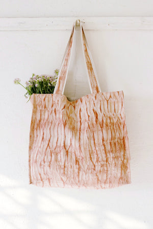Madder Nui Shibori Large Tote Bag