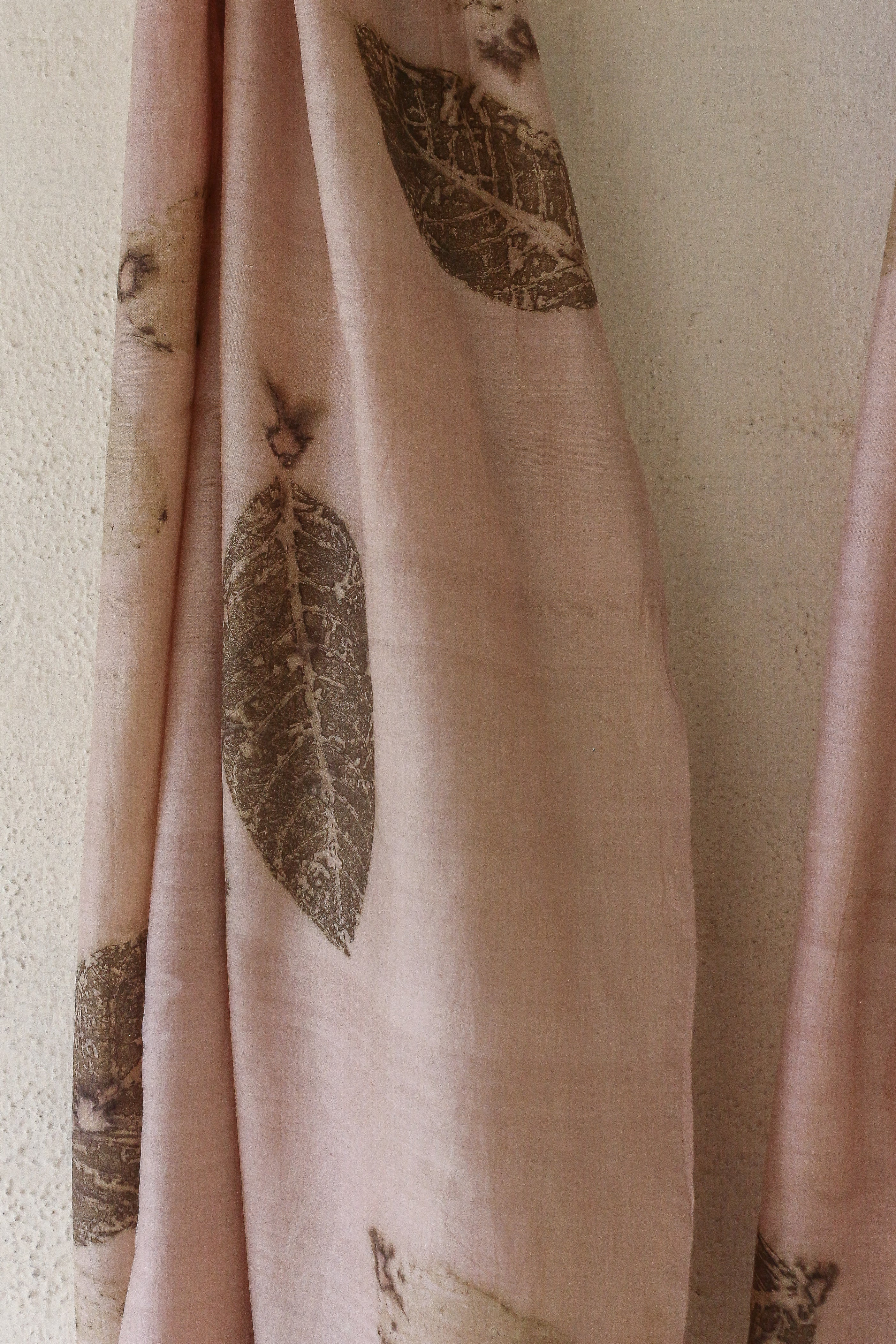 Guava Leaf Silk & Cotton Scarf