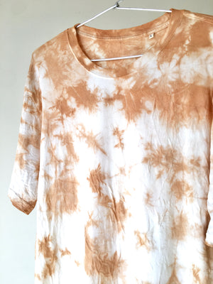 Sand Plant Dyed Organic Cotton T-Shirt