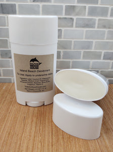 This baking soda-free deodorant glides easily onto underarms and leaves a non-greasy feel. It is also great for helping to absorb odor!