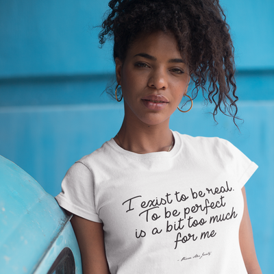 Exist to be Real Tee by Pierre Jeanty