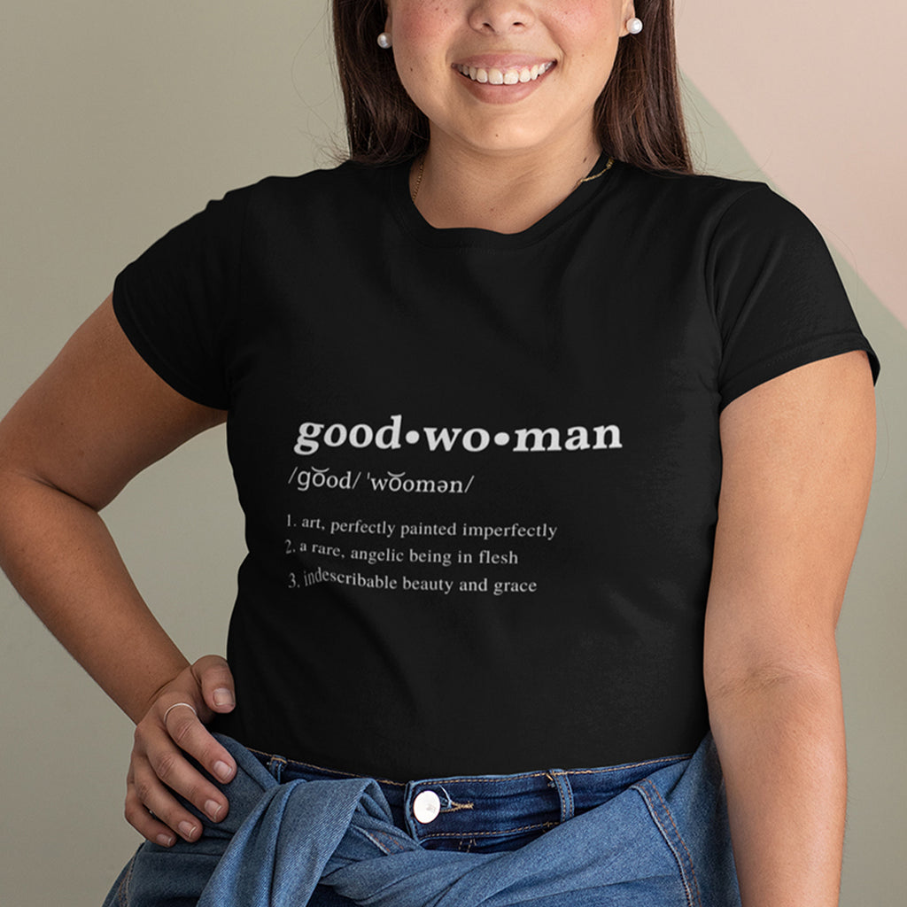 Good Woman Short Sleeve Crew Neck T-Shirt