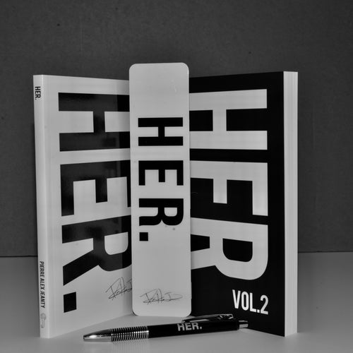 HER. Series (Complete Set w/ FREE Bookmark + Pen)