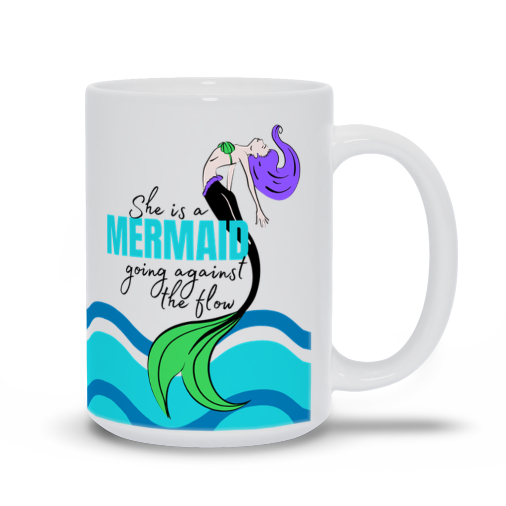 Mermaid Wave Mug