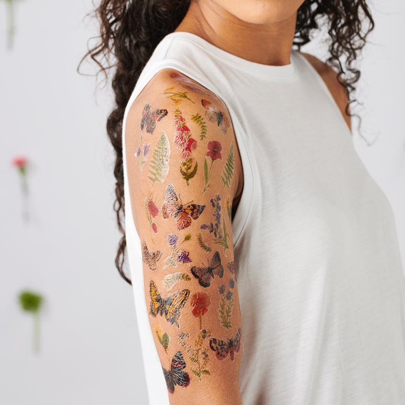 Wildflower Temporary Tattoo Pack