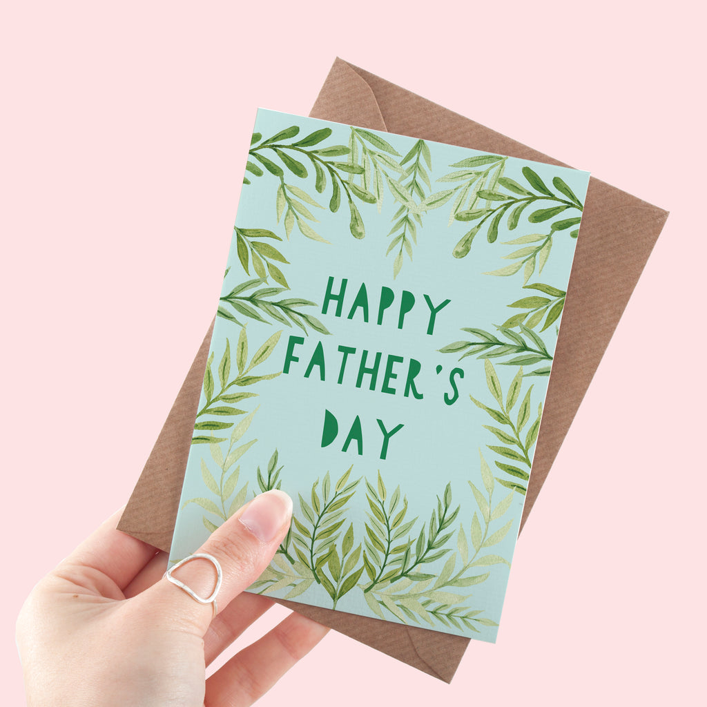 Leafy Father's Day Card