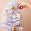 Mistletoe Laser-Cut Wooden Christmas Decoration