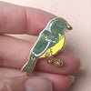 SECONDS SALE - British Garden Bird Hard Enamel Pin Badge