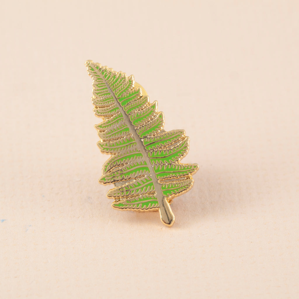 Fern Hard Enamel Pin Badge