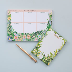 Stationery Deal - Weekly Planner Notepad & To Do list Notepad