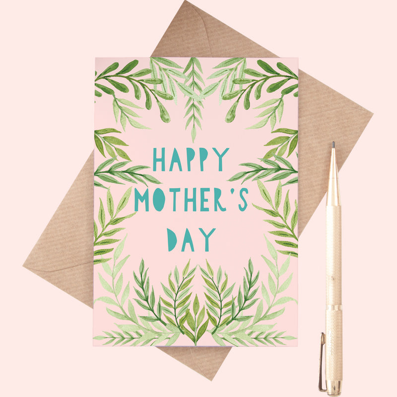 Leafy Mother's Day Card