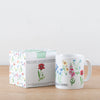 British Wild Flowers Illustrated Ceramic Mug
