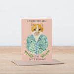 The Cat's Pyjamas Greeting Card