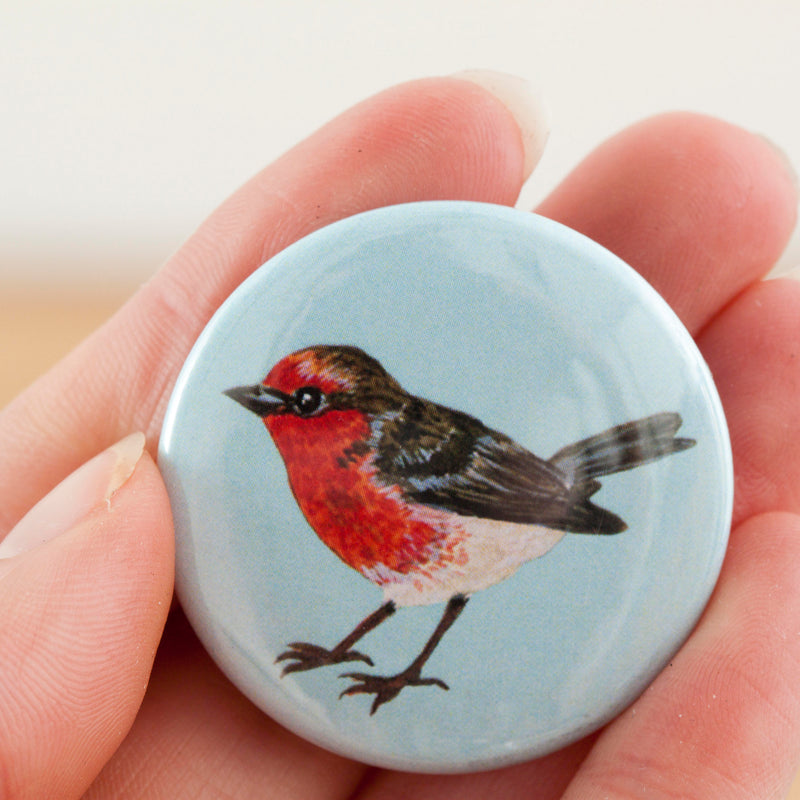 Garden Bird Fridge Magnet Set - Pack of 5