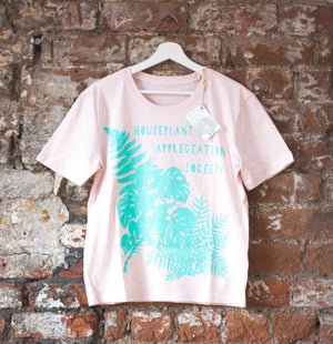 Houseplant Appreciation Society - Organic Cotton T-shirt