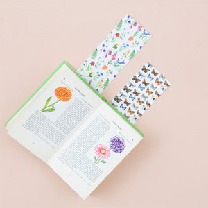 Wildflowers & Butterflies Reversible Bookmark