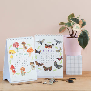 2019 Nature Themed Desk Calendar