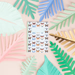 Butterflies & Moths Print A6 Pocket Notebook